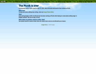 picnik.com screenshot