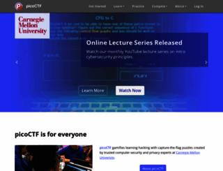picoctf.com screenshot