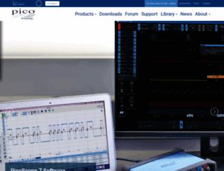 picotech.com screenshot