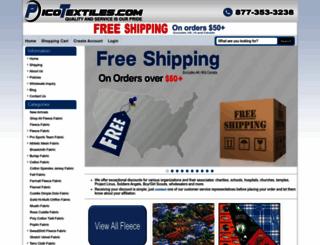 picotextiles.com screenshot