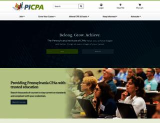 picpa.org screenshot