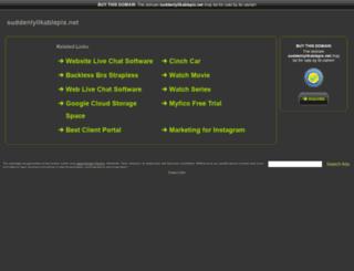 pics-knees.suddenlylikablepix.net screenshot