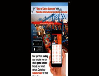 pict.com.pk screenshot