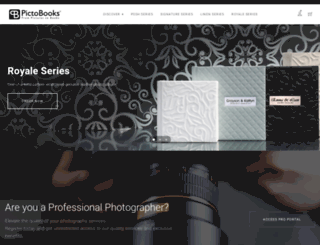 pictobooks.com screenshot