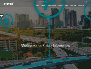 pictortelematics.com screenshot