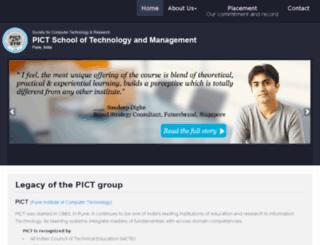 pictstm.edu.in screenshot