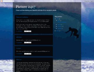 picture24x7.blogspot.com screenshot