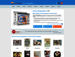 picturecollagesoftware.com screenshot