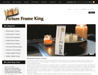 pictureframeking.com screenshot