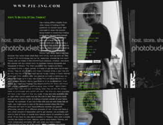 pie-ing.blogspot.com screenshot