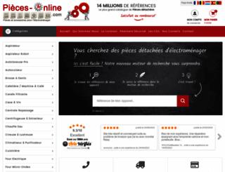 pieces-online.com screenshot