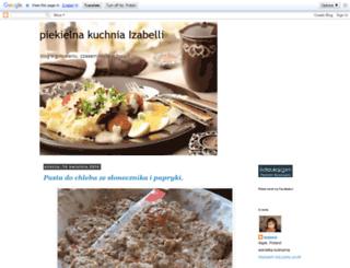 piekielnakuchniaizabelli.blogspot.com screenshot