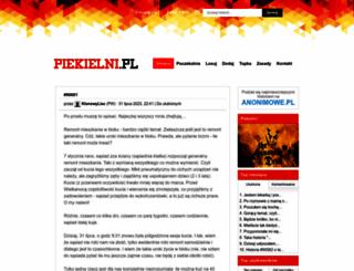 piekielni.pl screenshot
