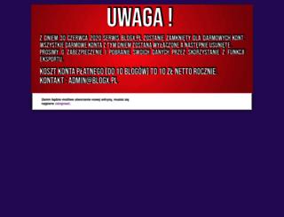 pieknanacodzien.blogx.pl screenshot