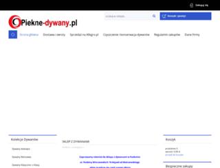 piekne-dywany.pl screenshot