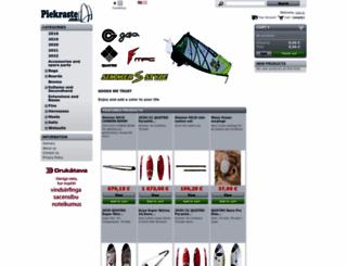 piekraste.com screenshot