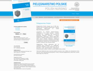 pielegniarstwo.ump.edu.pl screenshot