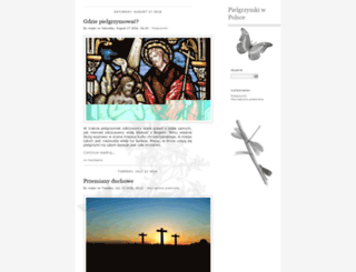 pielgrzymka.legnica.pl screenshot