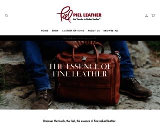 pielleather.com screenshot