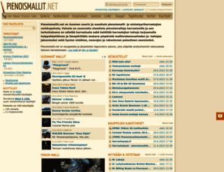 pienoismallit.net screenshot