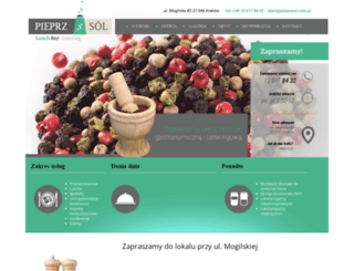 pieprzsol.com.pl screenshot