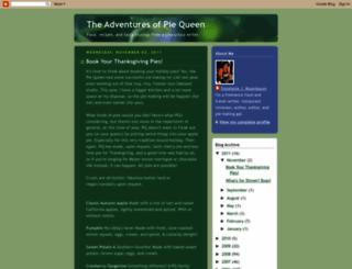 piequeen.blogspot.com screenshot