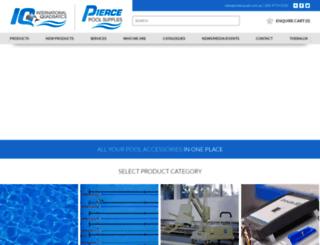 pierce.com.au screenshot