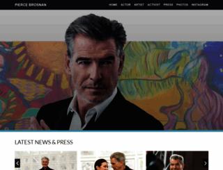 piercebrosnan.com screenshot