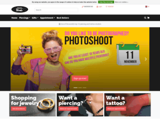 piercingsworks.com screenshot