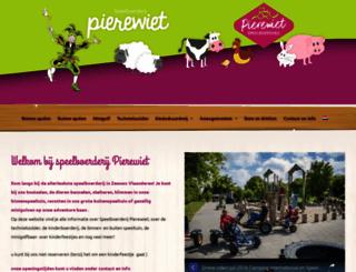 pierewiet.nl screenshot