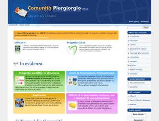 piergiorgio.org screenshot