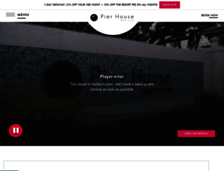 pierhouse.com screenshot