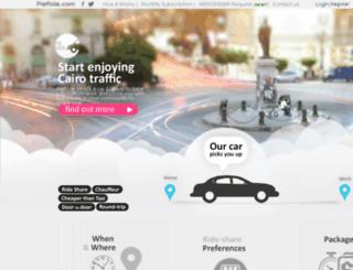 pieride.com screenshot
