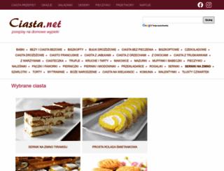 pierniki.ciasta.net screenshot