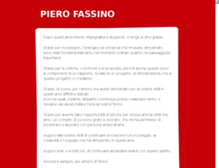 pierofassinosindaco.it screenshot