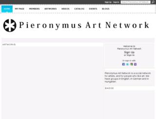 pieronymuskosch.ning.com screenshot