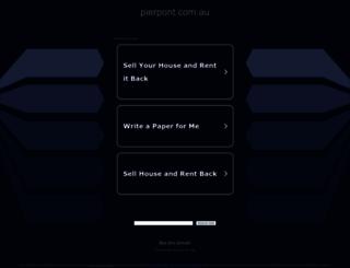 pierpont.com.au screenshot