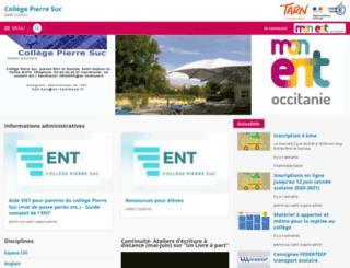 pierre-suc-saint-sulpice.entmip.fr screenshot