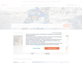 pierretvacances.com screenshot