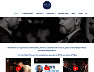 piersgibbon.com screenshot