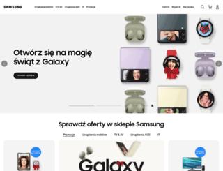 pierwszych100.samsung.pl screenshot