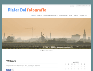 pieterdol.com screenshot