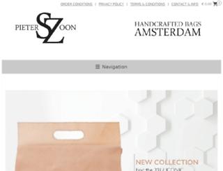 pieterszoon-webshop.com screenshot