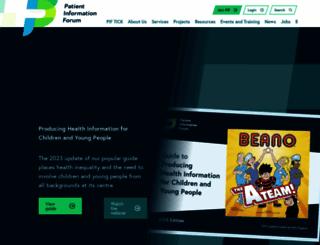 pifonline.org.uk screenshot
