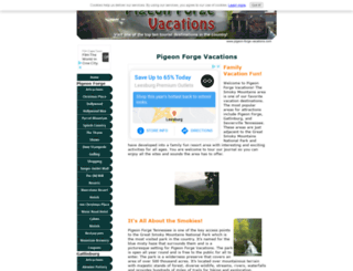 pigeon-forge-vacations.com screenshot
