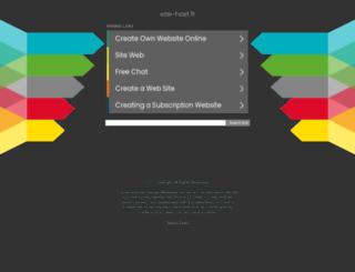 pigergentofte.site-host.fr screenshot