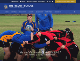 piggott.wokingham.sch.uk screenshot