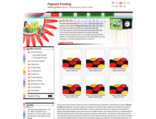 pigment-printing.com screenshot