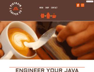 pigtraincoffee.com screenshot