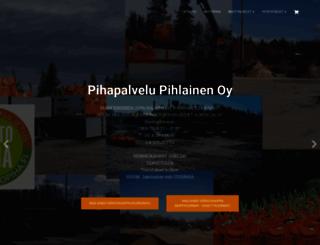 pihapalvelu.fi screenshot